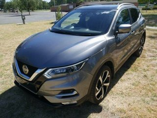2020 Nissan Qashqai 2020 Nissan QASHQAI Ti (5YR) 4D WAGON 4CYL Grey Continuous Variable Wagon.