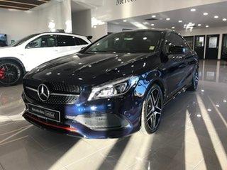 2017 Mercedes-Benz CLA-Class C117 807MY CLA250 DCT 4MATIC Sport Blue 7 Speed