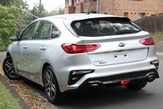 2020 Kia Cerato BD MY21 Sport Silky Silver 6 Speed Sports Automatic Hatchback.