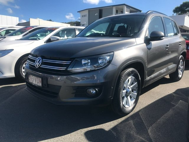 Used Volkswagen Tiguan 5N MY14 132TSI DSG 4MOTION Pacific Mount Gravatt, 2014 Volkswagen Tiguan 5N MY14 132TSI DSG 4MOTION Pacific Grey 7 Speed Sports Automatic Dual Clutch