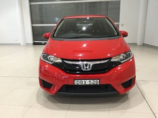 2015 Honda Jazz GF MY15 VTi Red 5 Speed Manual Hatchback