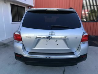 2012 Toyota Kluger GSU40R MY12 Grande 2WD Silver 5 Speed Sports Automatic Wagon