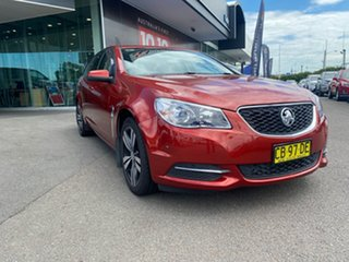 2014 Holden Commodore VF MY14 Evoke Sportwagon Red 6 Speed Sports Automatic Wagon.