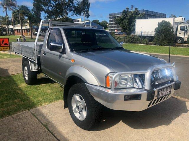 Used Nissan Navara D22 ST-R (4x4) Toowoomba, 2006 Nissan Navara D22 ST-R (4x4) Silver 5 Speed Manual Cab Chassis
