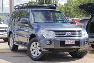 2010 Mitsubishi Pajero NT MY10 GLS Grey 5 Speed Sports Automatic Wagon.