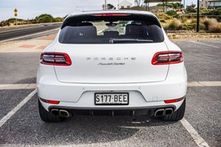 2014 Porsche Macan 95B MY15 Turbo PDK AWD White 7 Speed Sports Automatic Dual Clutch Wagon