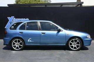 1997 Nissan Pulsar N15 Q Blue 5 Speed Manual Hatchback