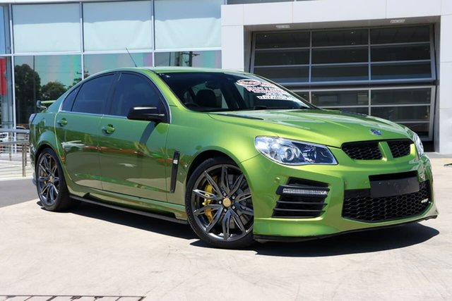 Used Holden Special Vehicles GTS Gen-F2 MY16 Liverpool, 2015 Holden Special Vehicles GTS Gen-F2 MY16 Jungle Green 6 Speed Manual Sedan