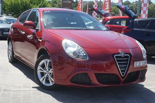 2013 Alfa Romeo Giulietta Series 0 MY13 Progression TCT Red 6 Speed Sports Automatic Dual Clutch.