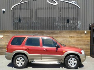 2002 Mazda Tribute Classic Traveller Red 4 Speed Automatic Wagon.