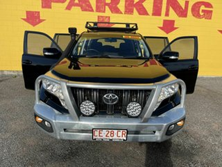 2015 Toyota Landcruiser Prado GDJ150R GXL Black 6 Speed Sports Automatic Wagon.