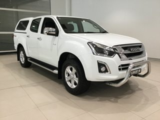2017 Isuzu D-MAX MY17 LS-U Crew Cab White 6 Speed Sports Automatic Utility.
