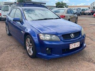 2007 Holden Commodore VE SV6 Blue 6 Speed Manual Sedan.