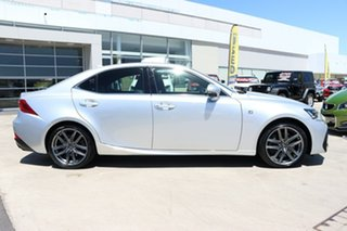 2018 Lexus IS GSE31R IS350 F Sport Silver 8 Speed Sports Automatic Sedan.