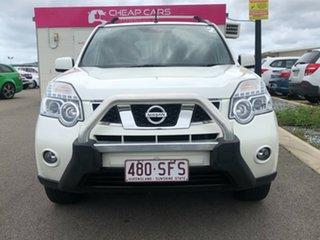 2012 Nissan X-Trail T31 Series IV TS White 6 Speed Sports Automatic Wagon
