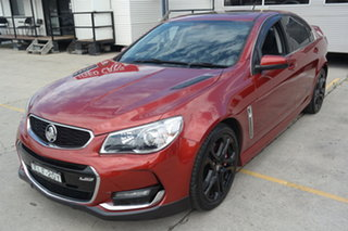 2016 Holden Commodore VF II MY16 SS V Redline Red 6 Speed Sports Automatic Sedan