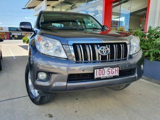 2012 Toyota Landcruiser Prado 150 Altitude Grey 5 Speed Automatic Wagon