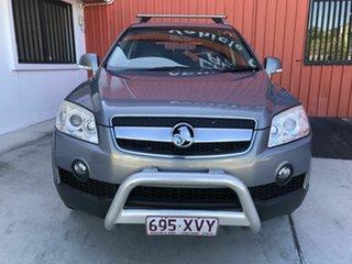 2010 Holden Captiva CG MY10 LX AWD Grey 5 Speed Sports Automatic Wagon.