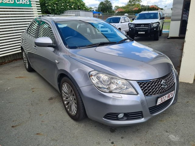 Used Suzuki Kizashi FR XLS Mount Gravatt, 2010 Suzuki Kizashi FR XLS Silver 6 Speed Constant Variable Sedan