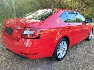 2019 Skoda Octavia NE MY19 110TSI Sedan DSG Corrida Red 7 Speed Sports Automatic Dual Clutch