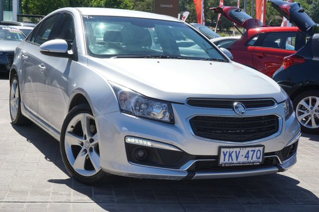 Used Holden Cruze JH Series II MY15 SRi-V Phillip, 2015 Holden Cruze JH Series II MY15 SRi-V Silver 6 Speed Sports Automatic Sedan