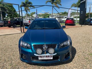 2012 Holden Commodore THUNDER Blue 6 Speed Manual Utility