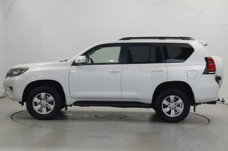 2018 Toyota Landcruiser Prado GDJ150R GXL Crystal Pearl 6 Speed Sports Automatic Wagon