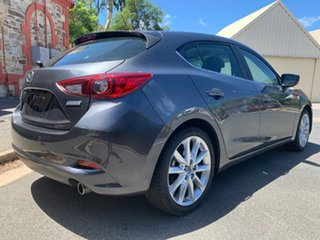 2017 Mazda 3 BN5438 SP25 SKYACTIV-Drive Grey 6 Speed Sports Automatic Hatchback.