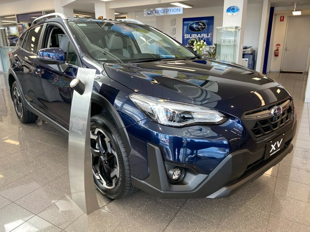 New Subaru XV G5X MY21 2.0i-S Lineartronic AWD Glenelg, 2020 Subaru XV G5X MY21 2.0i-S Lineartronic AWD Dark Blue Pearl 7 Speed Constant Variable Wagon