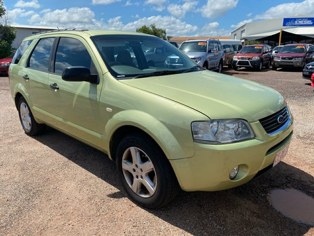 Used Ford Territory SX TS Berrimah, 2005 Ford Territory SX TS Green 4 Speed Sports Automatic Wagon