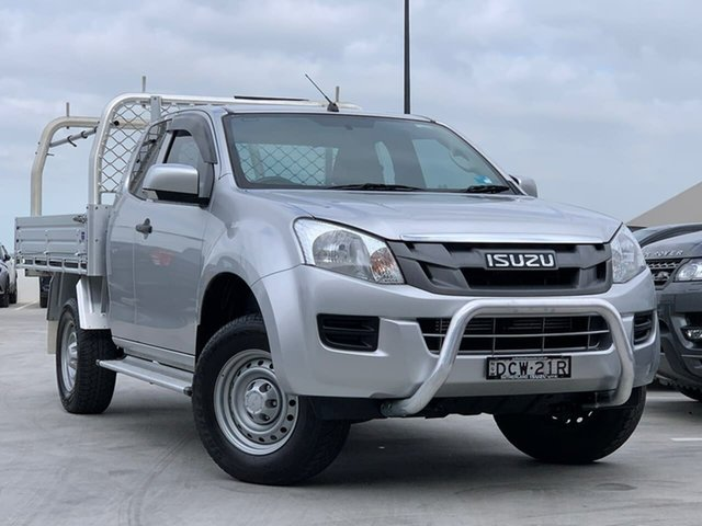 Used Isuzu D-MAX MY15 SX Crew Cab 4x2 High Ride Liverpool, 2016 Isuzu D-MAX MY15 SX Crew Cab 4x2 High Ride Silver 5 Speed Sports Automatic Cab Chassis