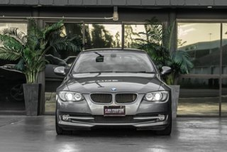 2011 BMW 3 Series E93 MY11 320d Steptronic Grey 6 Speed Sports Automatic Convertible.
