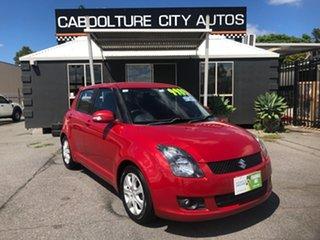 2010 Suzuki Swift EZ MY07 Update RE.4 Red 4 Speed Automatic Hatchback.