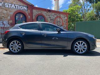 2017 Mazda 3 BN5438 SP25 SKYACTIV-Drive Grey 6 Speed Sports Automatic Hatchback