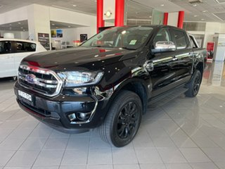 2020 Ford Ranger PX MkIII 2020.75MY XLT Black 10 Speed Sports Automatic Double Cab Pick Up