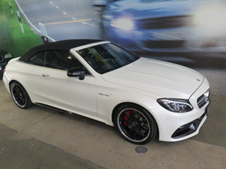 2016 Mercedes-Benz C63 W204 MY14 AMG Edition 507 White 7 Speed Automatic G-Tronic Coupe.