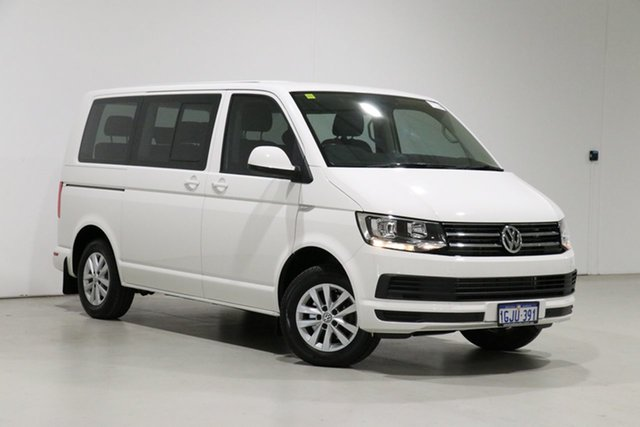 Used Volkswagen Multivan T6 MY17.5 Comfortline TDI340 Bentley, 2017 Volkswagen Multivan T6 MY17.5 Comfortline TDI340 White 7 Speed Auto Direct Shift Wagon