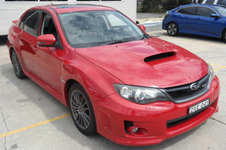 2011 Subaru Impreza G3 MY11 WRX AWD Red 5 Speed Manual Sedan.
