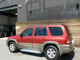 2002 Mazda Tribute Classic Traveller Red 4 Speed Automatic Wagon