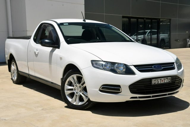 Used Ford Falcon FG MkII EcoLPi Ute Super Cab Tuggerah, 2012 Ford Falcon FG MkII EcoLPi Ute Super Cab White 6 Speed Sports Automatic Utility