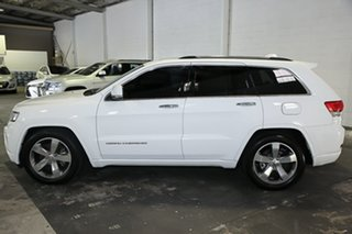 2014 Jeep Grand Cherokee WK MY15 Overland White 8 Speed Sports Automatic Wagon