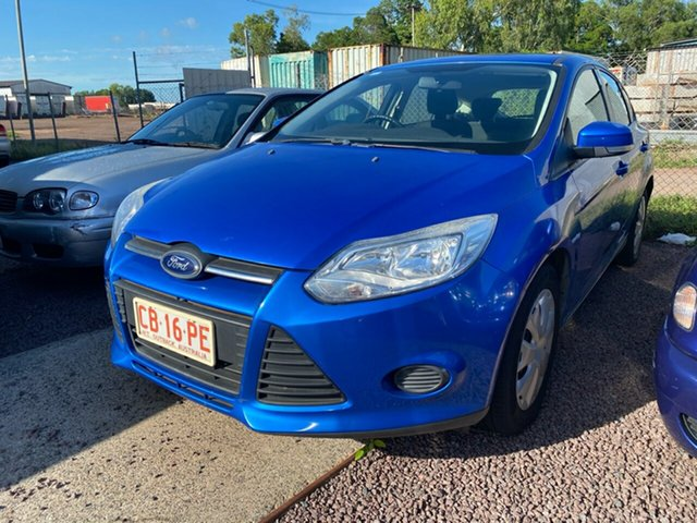 Used Ford Focus LW MkII Trend Berrimah, 2013 Ford Focus LW MkII Trend Blue 5 Speed Manual Hatchback
