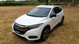 2020 Honda HR-V MY21 RS Platinum White 1 Speed Automatic Hatchback