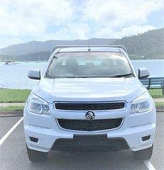 2015 Holden Colorado RG MY15 LS Crew Cab 4x2 White Automatic.