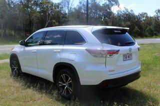 2016 Toyota Kluger GSU50R GXL 2WD White 8 Speed Sports Automatic Wagon