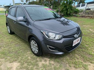 2014 Hyundai i20 ACTIVE Grey 6 Speed Manual Hatchback.
