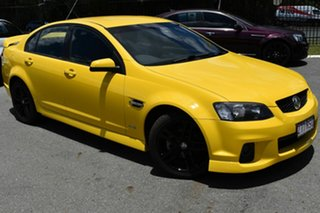 2011 Holden Commodore VE II MY12 SV6 Yellow 6 Speed Automatic Sedan.