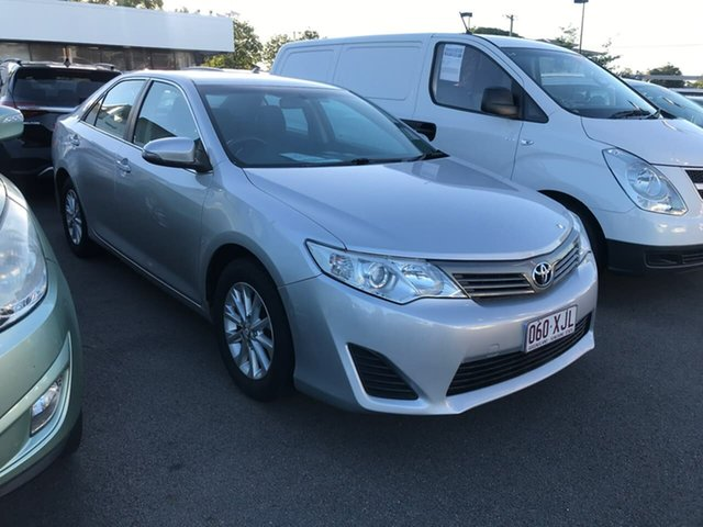 Used Toyota Camry ASV50R Altise Mount Gravatt, 2015 Toyota Camry ASV50R Altise Silver 6 Speed Sports Automatic Sedan