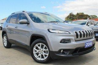 2016 Jeep Cherokee KL MY16 Longitude Grey 9 Speed Sports Automatic Wagon