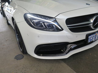 2016 Mercedes-Benz C63 W204 MY14 AMG Edition 507 White 7 Speed Automatic G-Tronic Coupe